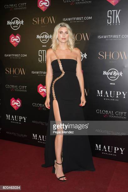 Ashley Louise James attends the Global Gift Gala party at STK Ibiza on July 21 2017 in Ibiza Spain