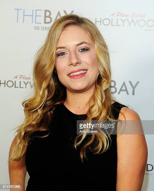 Ashley Macropolis attends the 5th Annual LANY Entertainment Mixer at St Felix on March 10 2016 in Hollywood California
