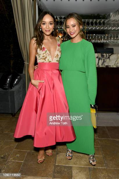 Ashley Madekwe and Jamie Chung attend Entertainment Weekly Celebrates Screen Actors Guild Award Nominees sponsored by L'Oreal Paris, Cadillac, And...