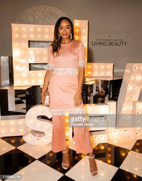 Ashley Madekwe attends Living Beauty's Dinner Under The Stars Hosted By Stella McCartney on May 03 2019 in Beverly Hills California