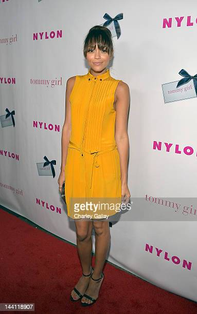 Ashley Madekwe attends NYLON Magazine and Tommy Girl Celebrate The Annual May Young Hollywood Issue at Hollywood Roosevelt Hotel on May 9 2012 in...
