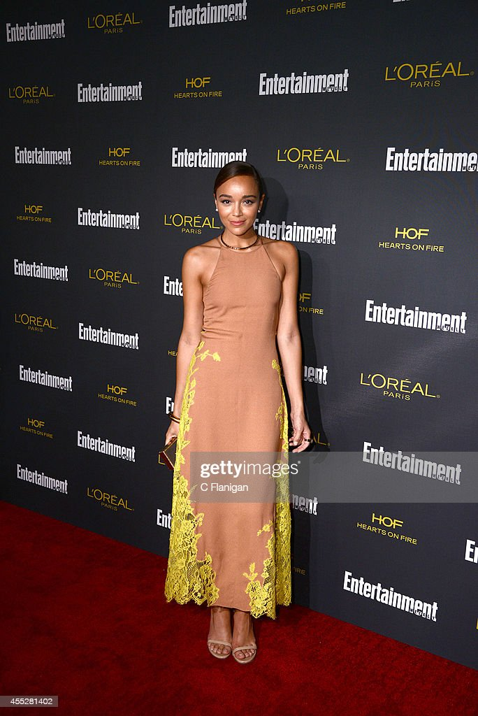 Ashley Madekwe attends the 2014 Entertainment Weekly Pre-Emmy Party at Fig & Olive Melrose Place on August 23, 2014 in West Hollywood, California.