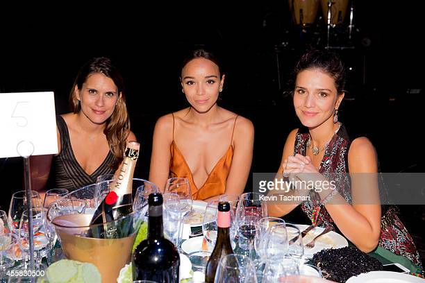 Ashley Madekwe attends the amfAR Milano 2014 Gala Dinner and Auction as part of Milan Fashion Week Womenswear Spring/Summer 2015 on September 20 2014...