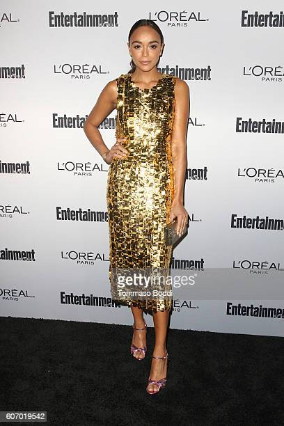 Ashley Madekwe attends the Entertainment Weekly's 2016 PreEmmy Party held at Nightingale Plaza on September 16 2016 in Los Angeles California