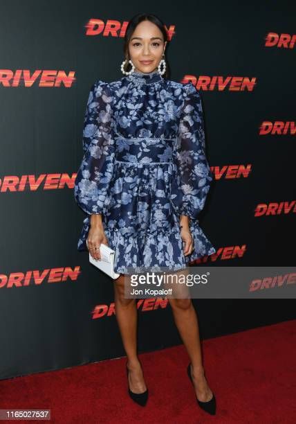 Ashley Madekwe attends Universal Pictures Home Entertainment Content Group's Los Angeles Premiere Of Driven at ArcLight Hollywood on July 29 2019 in...