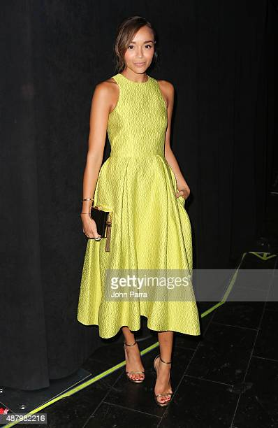 Ashley Madekwe is Seen Around Spring 2016 New York Fashion Week The Shows on September 12 2015 in New York City