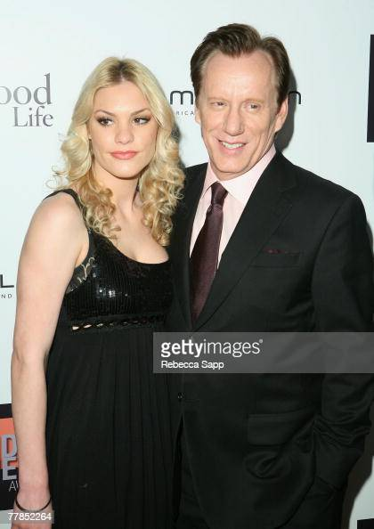 Ashley Madison and actor James Woods at the Hamilton ...