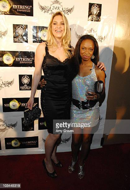 Ashley Madison and Charmaine Blake attend her Birthday Bash on January 14 2009 in Los Angeles California