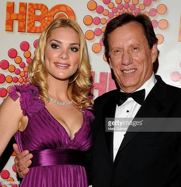 Ashley Madison and James Woods arrives for HBO's 63rd Annual Primetime Emmy Awards after party at Pacific Design Center on September 18, 2011 in West...