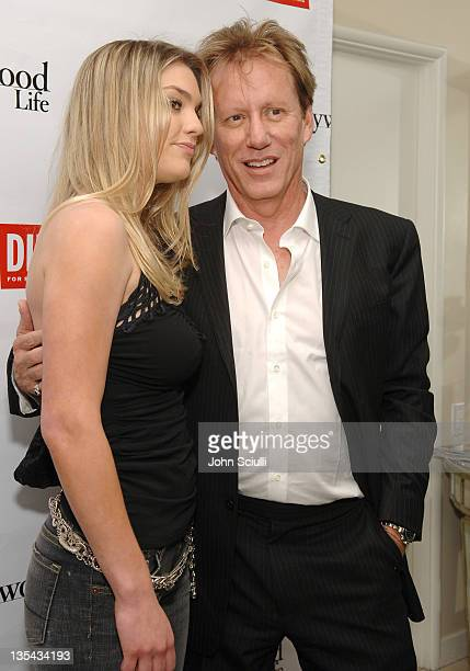 Ashley Madison and James Woods during Diesel Presents Young Hollywood Awards Countdown - March 30, 2006 at Liberace's Penthouse in Los Angeles,...