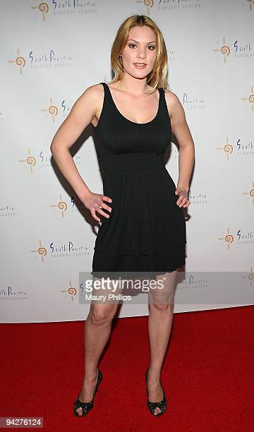 Ashley Madison arrives at Simine Hashemizdeh's Holiday Red Carpet Event To Benefit M Benga Foundation on December 10, 2009 in Hollywood, California.