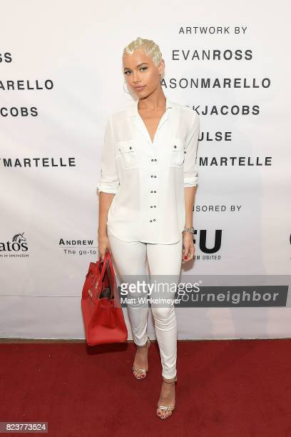 Ashley Martelle attends Freedom United Foundation presents Art with a Cause on July 27 2017 in Los Angeles California