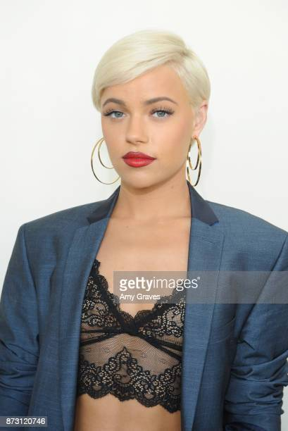 Ashley Martelle attends the As In Kevin Premiere at Film Fest LA at LA Live on November 11 2017 in Los Angeles California