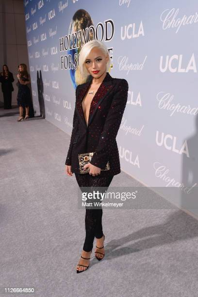 Ashley Martelle attends the UCLA IoES honors Barbra Streisand and Gisele Bundchen at the 2019 Hollywood for Science Gala on February 21 2019 in...
