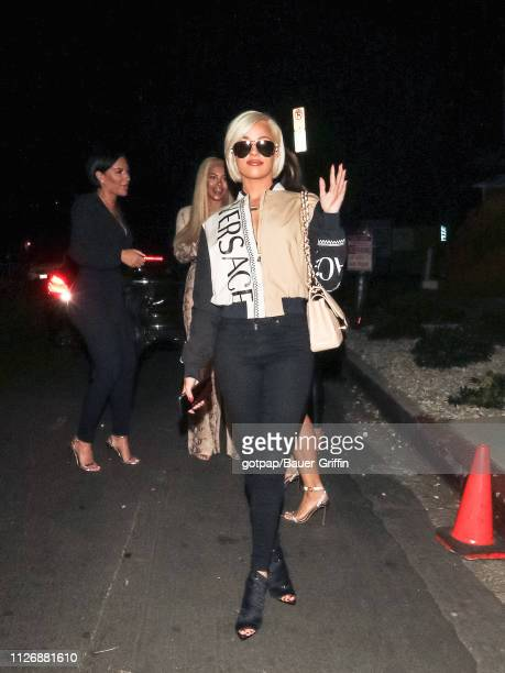 Ashley Martelle is seen on February 22 2019 in Los Angeles California