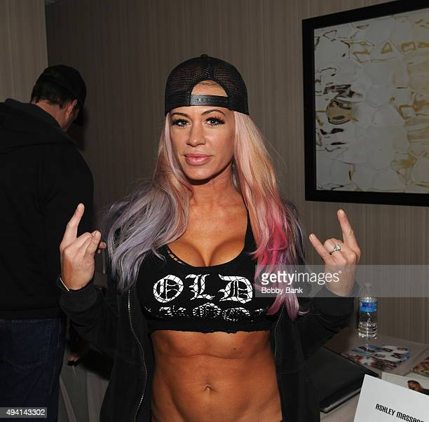 Ashley Massaro attends day 2 of Chiller Theatre Expo on October 24 2015 in Parsippany NJ United States