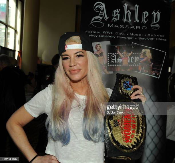 Ashley Massaro attends the 2017 Big Apple Con at Penn Plaza Pavilion on March 11 2017 in New York City