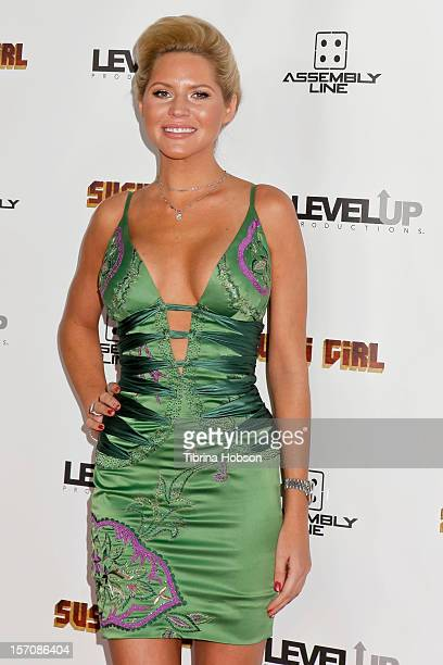 Ashley Mattingly attends the 'Sushi Girl' Los Angeles premiere at Grauman's Chinese Theatre on November 27, 2012 in Hollywood, California.