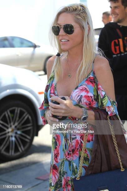Ashley Mattingly is seen on August 9, 2019 at Los Angeles.