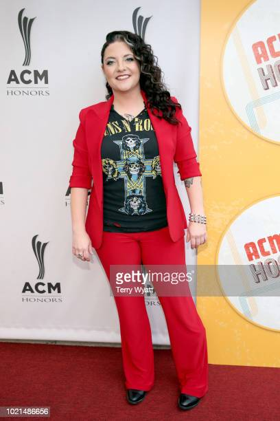 Ashley McBryde attends the 12th Annual ACM Honors at Ryman Auditorium on August 22 2018 in Nashville Tennessee