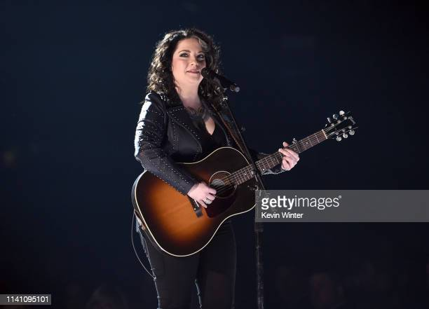 Ashley McBryde onstage during the 54th Academy Of Country Music Awards at MGM Grand Garden Arena on April 07 2019 in Las Vegas Nevada