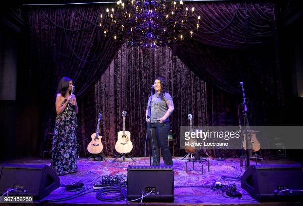 Ashley McBryde performs at Billboard Live Featuring CMT Next Women Of Country at Analog at the Hutton Hotel on June 4 2018 in Nashville Tennessee