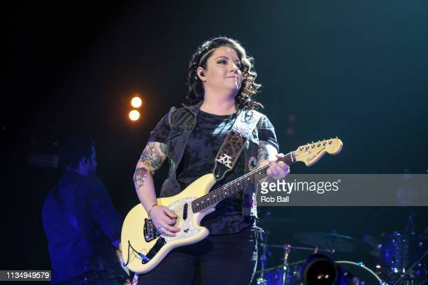 Ashley McBryde performs at C2C Country to Country at The O2 Arena on March 10 2019 in London England