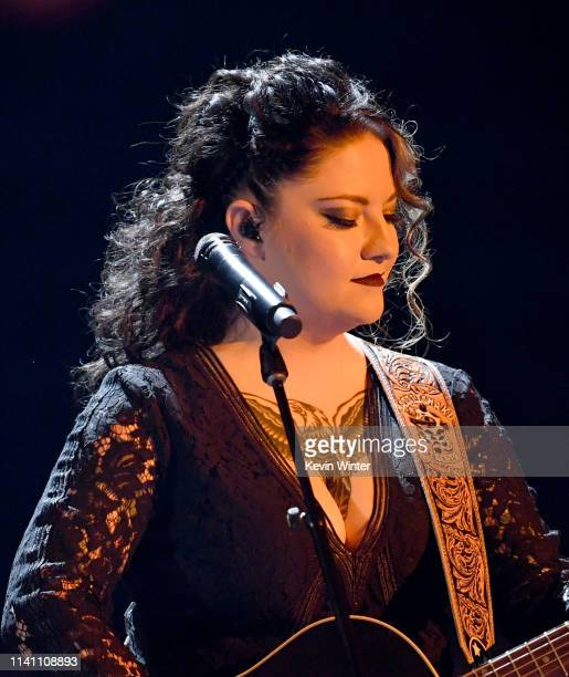 Ashley McBryde performs onstage during the 54th Academy Of Country Music Awards at MGM Grand Garden Arena on April 07 2019 in Las Vegas Nevada