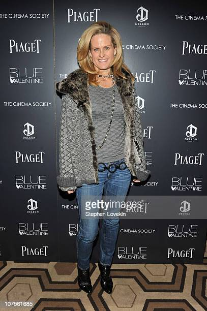 Ashley McDermott attends the Cinema Society Piaget screening of Blue Valentine at theTribeca Grand Hotel on December 13 2010 in New York City