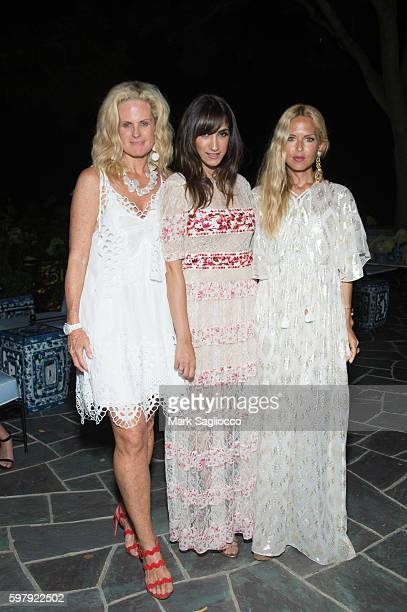 Ashley McDermott EBTH Chief Brand Officer of EBTH Mandana Dayani and Designer Rachel Zoe attend the Ashley And Jeff McDermott host an intimate...