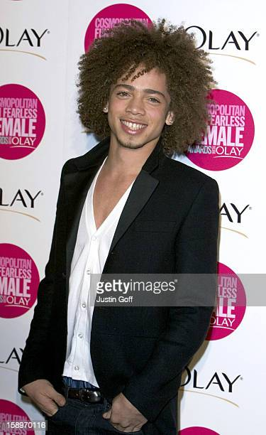 Ashley Mckenzie Attends The Cosmopolitan Fun Fearless Female Awards With Olay At London'S Bloomsbury Ballroom