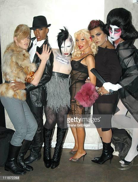 Ashley Milan Miranda Moondust Amanda Lepore Mimi and Geisha