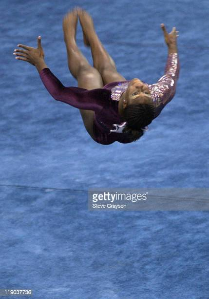 Ashley Miles of Alabama in action during the 2004 NCAA Championship Team Finals at Pauley Pavilion in Westwood California April 16