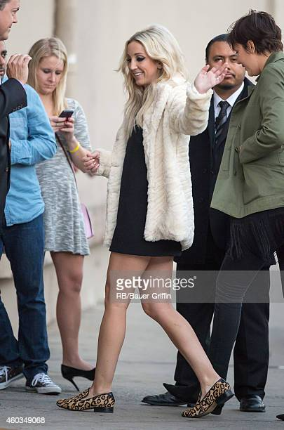 Ashley Monroe is seen at 'Jimmy Kimmel Live' on December 11 2014 in Los Angeles California