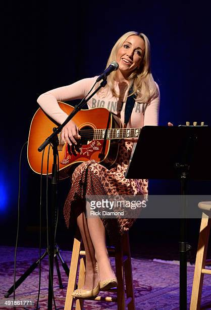 Ashley Monroe performs during the Country Music Hall Of Fame Museum Presents Songwriter Session Ashley Monroe at Country Music Hall of Fame and...