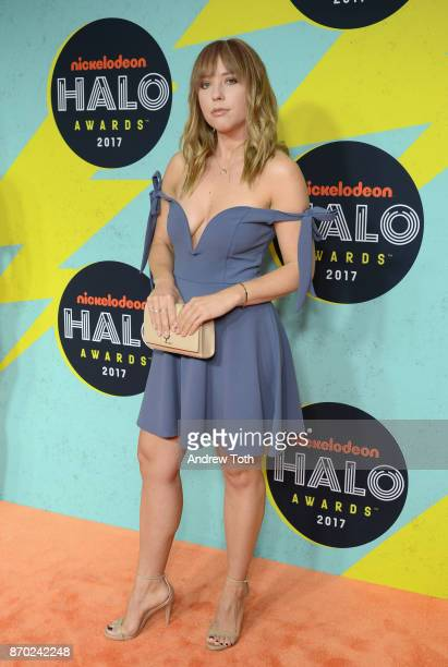 Ashley Nichole attends the 2017 Nickelodeon HALO Awards at Pier 36 on November 4 2017 in New York City
