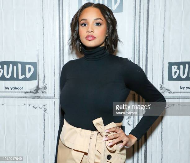 Ashley Nicole Williams visits BUILD at Build Studio on March 12, 2020 in New York City.