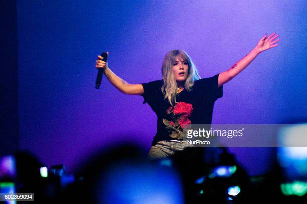 Ashley Nicolette Frangipane also known as Halsey perform live during her Tour 2017 at Alcatraz Club in Milan Italy on 27 June 2017