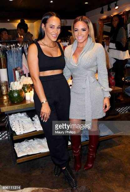 Ashley North and Bad Media attend an event hosted by TV personality and fashion stylist Ashley North for her new an Style Candles line at Wardrobe...