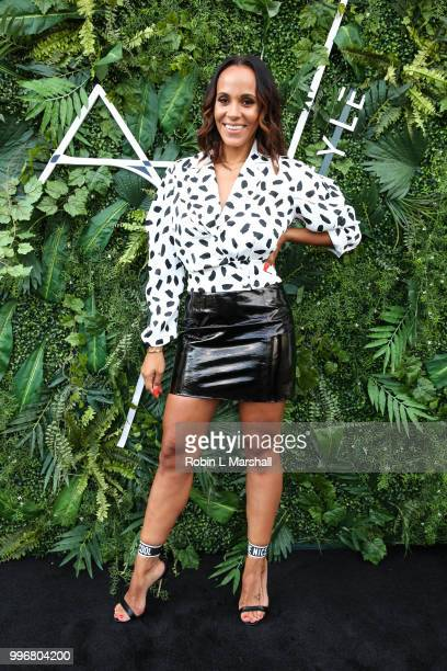 Ashley North celebrates the launch of 'AN STYLE' Candles at IceLink Boutique and Rooftop Lounge on July 11 2018 in West Hollywood California