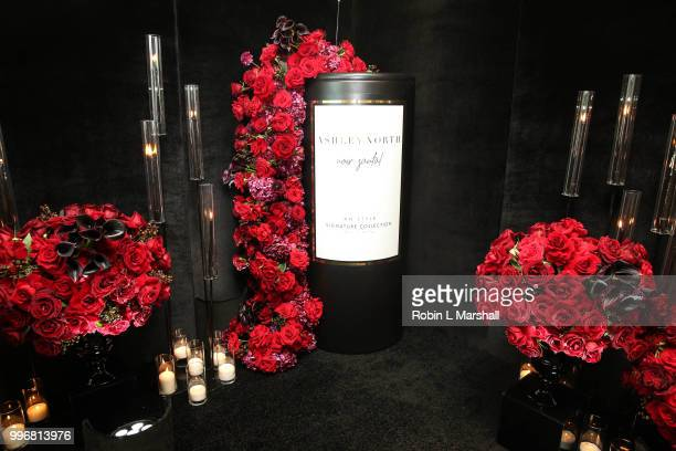 Ashley North's Launch of 'AN STYLE' Candles at IceLink Boutique and Rooftop Lounge on July 11 2018 in West Hollywood California
