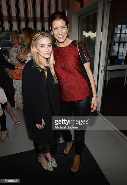 Ashley Olsen and Kate Walsh attend MaryKate Olsen Ashley Olsen and InStyle Editor Ariel Foxman celebrate the launch of the Elizabeth and James Fall...