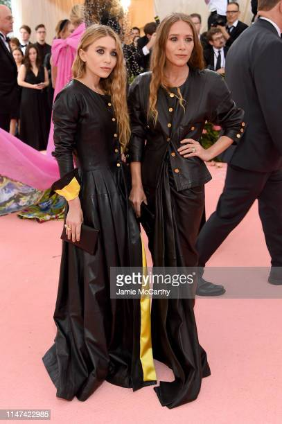 Ashley Olsen and Mary Kate Olsen attend The 2019 Met Gala Celebrating Camp: Notes on Fashion at Metropolitan Museum of Art on May 06, 2019 in New...