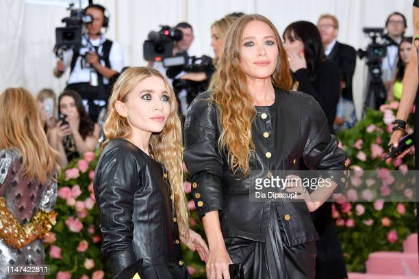 Ashley Olsen and Mary Kate Olsen attends The 2019 Met Gala Celebrating Camp Notes on Fashion at Metropolitan Museum of Art on May 06 2019 in New York...