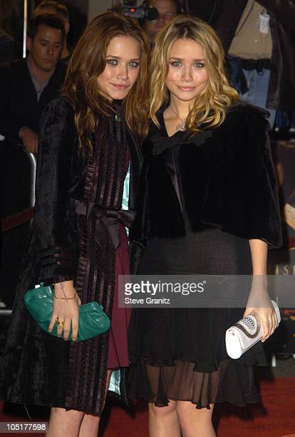 """Ashley Olsen and Mary Kate Olsen during """"The Last Samurai"""" Los Angeles Premiere at Mann Village Theatre in Westwood, California, United States."""