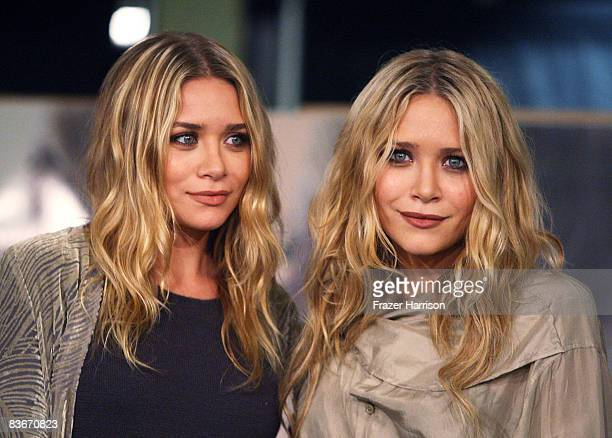 Ashley Olsen and Mary Kate Olsen who attended a book signing session for Influence on Novenber 12 2008 at Borders books store in Westwood California