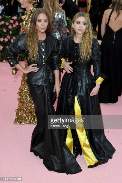 Ashley Olsen and MaryKate Olsen attend The 2019 Met Gala Celebrating Camp Notes On Fashion at The Metropolitan Museum of Art on May 06 2019 in New...