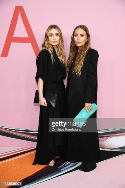 Ashley Olsen and MaryKate Olsen attend the CFDA Fashion Awards at the Brooklyn Museum of Art on June 03 2019 in New York City