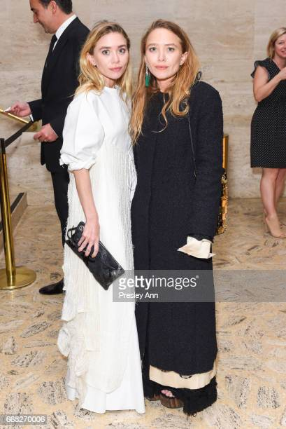 Ashley Olsen and MaryKate Olsen attend Youth America Grand Prix's 2017 Stars of Today Meet the Stars of Tomorrow Gala at David H Koch Theater Lincoln...