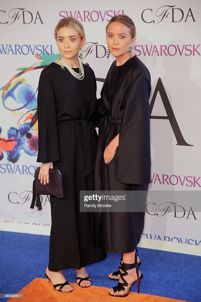 Ashley Olsen and Mary-Kate Olsen attends at Alice Tully Hall, Lincoln Center on June 2, 2014 in New York City.